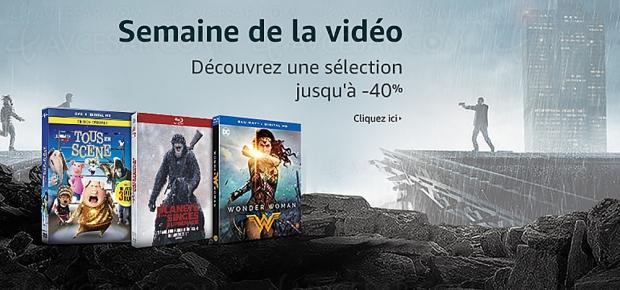 Amazon semaine de la vidéo, 2 000 BD/DVD et séries TV à petit prix, jusqu'à -51%