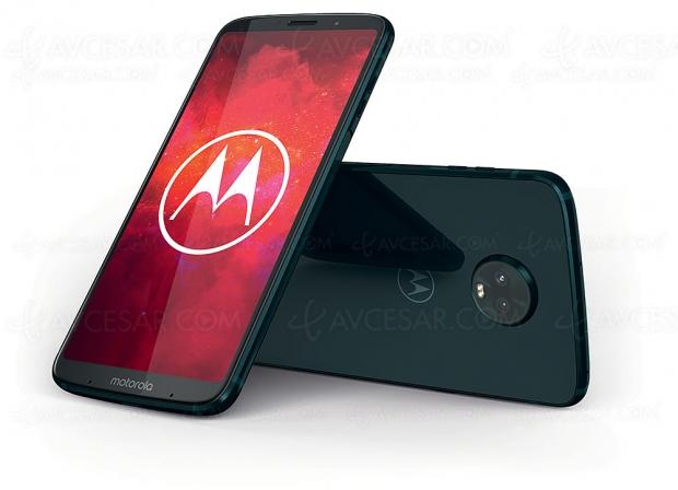 Smartphone modulaire Motorola Moto Z3Play et MotoMods