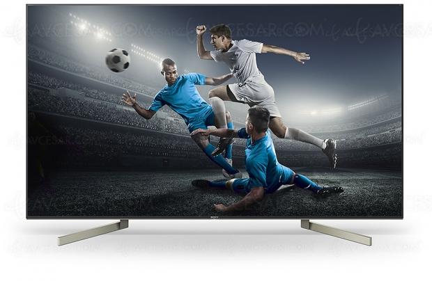 Test TV LED Ultra HD SonyKD‑65XF9005, enligne