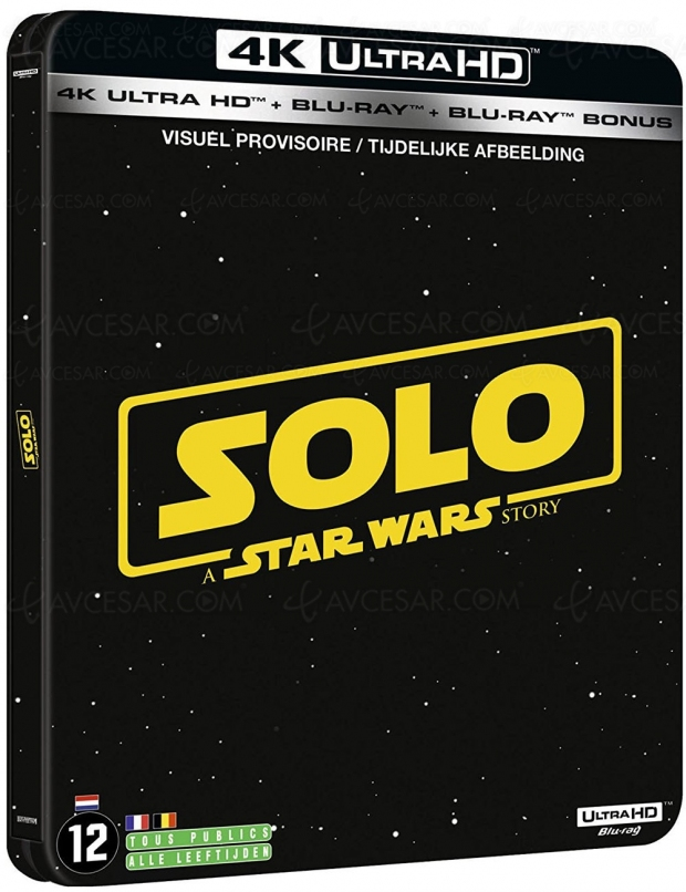 Solo : a Star Wars Story 4K Ultra HD Blu‑Ray, quel visuel préférez‑vous pour le 30 septembre ?