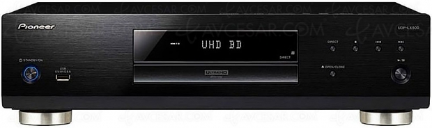 Pioneer UDP‑LX500, nouvelle platine 4K Ultra HD Blu‑Ray