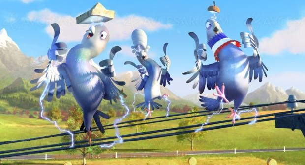 Le voyage de Ricky : drôles d'oiseaux pour vos poussins