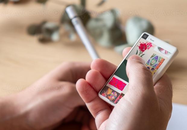 Concept Minima et le smartphone devient toutpetit