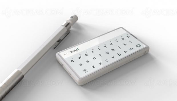 Concept Minima et le smartphone devient tout petit