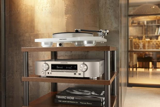 Marantz NR1609, amplificateur Slim 7.2, Alexa, Upcaling Ultra HD, multiroom Heos, HDR Dolby Vision, HDR HLG, Dolby Atmos 5.1.2 et DTS:X 7.1