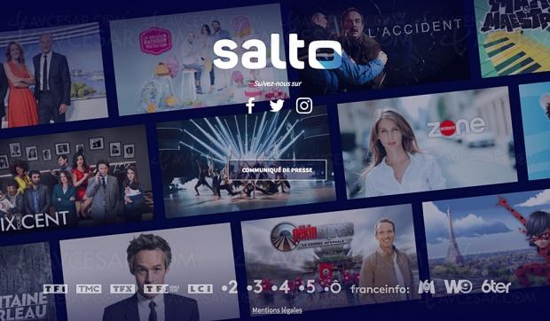 France Télévisions, TF1 etM6 ensemble pour créerSalto, nouveau service de streamingvidéo