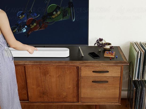 Sonos Beam, nouvelle barre de son 3.0, multiroom, compatible Alexa et Siri en attendant Google Assistant ?