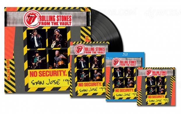 Depuis les archives des Rolling Stones, un nouveau live de 1999 à StJosé
