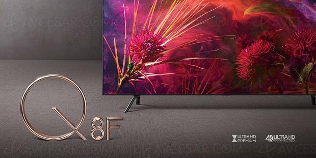 TV LED Ultra HD Samsung Q8DN 2018, 55