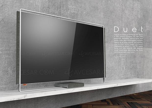 TV Oled Philips Duet, téléviseur concept dévoilé à l'IFA de Berlin 2018