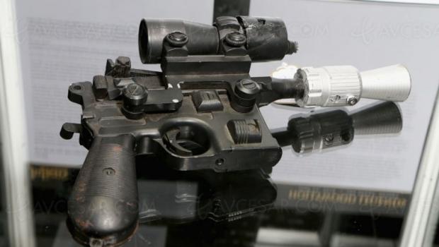 Le blaster de Han Solo original vendu 550000$