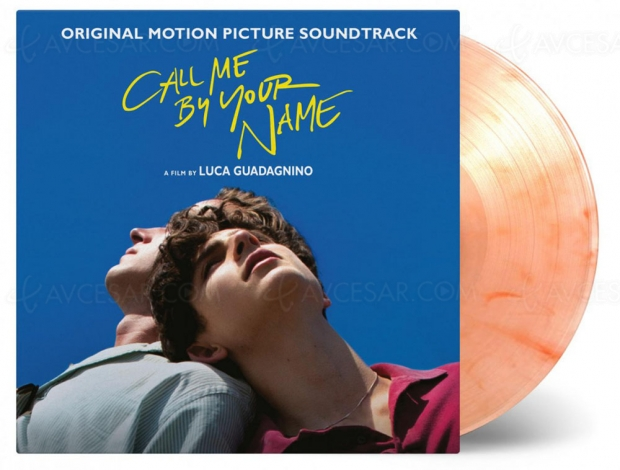 Call me by your Name, vinyle Collector versionfruitée