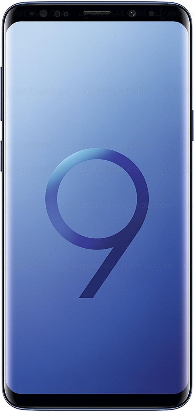 Soldes été 2018, Samsung GalaxyS9+ 64Go à655€