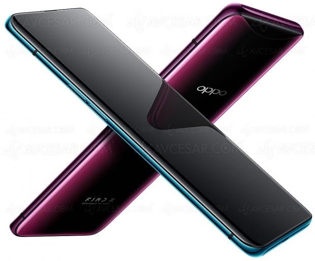 Smartphone Oppo FindX, ledétail des caractéristiquestechniques