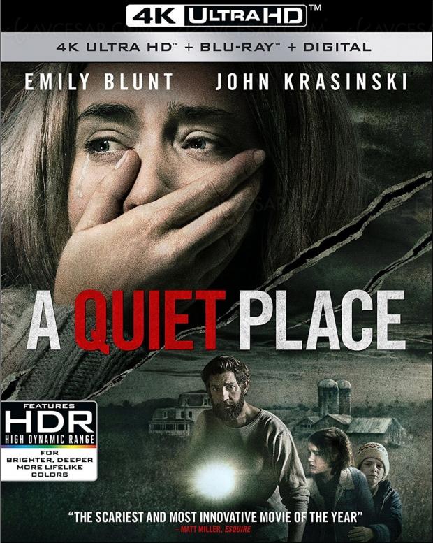 Du Dolby Atmos pour Sans un bruit, bientôt en 4K Ultra HD Blu‑Ray
