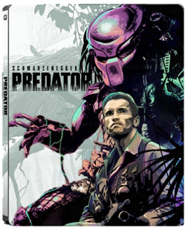 Predator, le film original avec Schwarzie en 4KUltraHDBlu‑Ray + latrilogie!