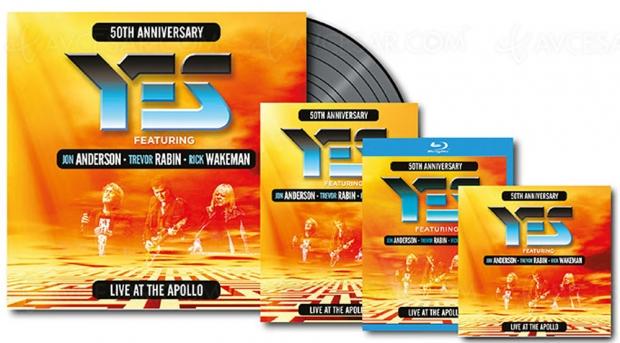 Le groupe culte Yes célèbre 50ans de carrière surscène