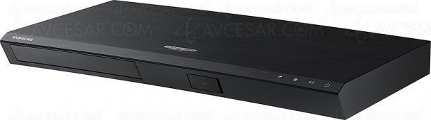 Soldes été 2018, platine 4K Ultra HD Blu‑Ray Samsung UBD‑M7500H à 179,99 €, soit 28% de remise
