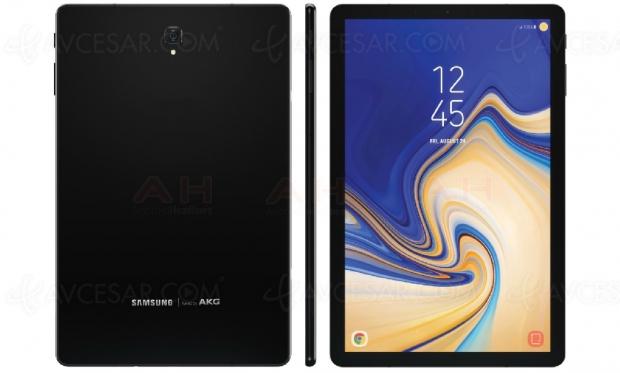 Premières images de la tablette SamsungGalaxy TabS4