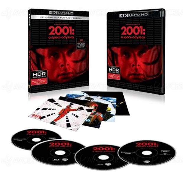 2001, l'odyssée de l'espace 4K Ultra HD Blu‑Ray, le visuel français