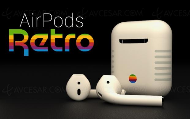 Écouteurs Apple AirPods rétro limités à 399 $