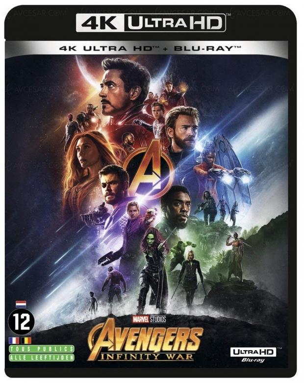 Avengers : Infinity War 4K Ultra HD Blu‑Ray, on fait le point ?