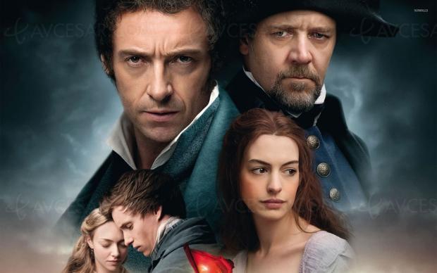 Les Misérables, Hugh Jackman, Russell Crowe et Anne Hathaway en 4K Ultra HD