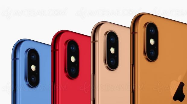 Prix indicatifs et nouvelles couleurs des prochains iPhone…