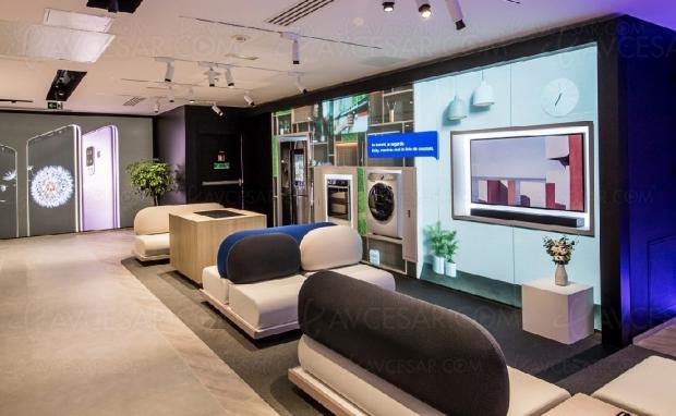 Ouverture du premier Experience Store Samsung français