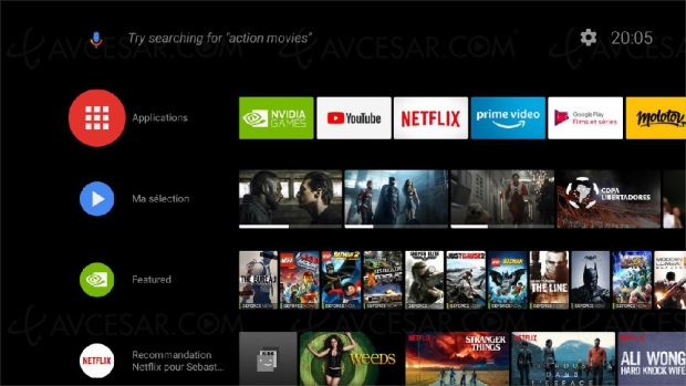 Google Assistant disponible sur la box nVidia Shield TV