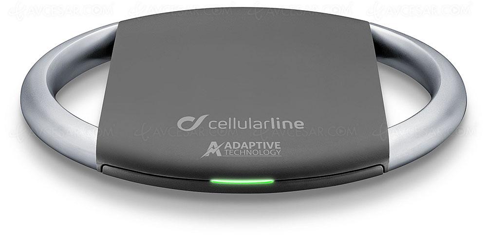 Nouveaux chargeurs sans‑fil Cellularline avec technologie