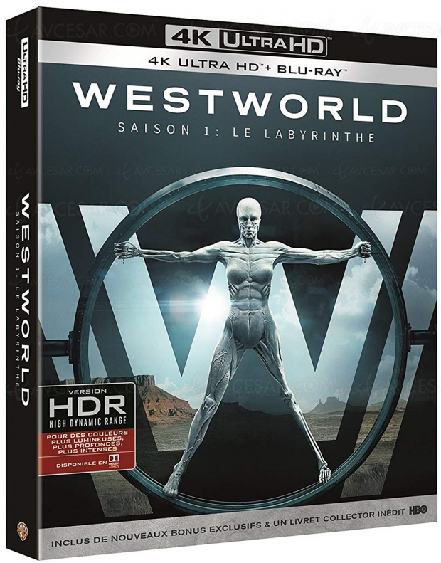 Amazon Prime Day, coffret 4K Ultra HD Blu‑Ray Westworld saison 1  à ‑63%