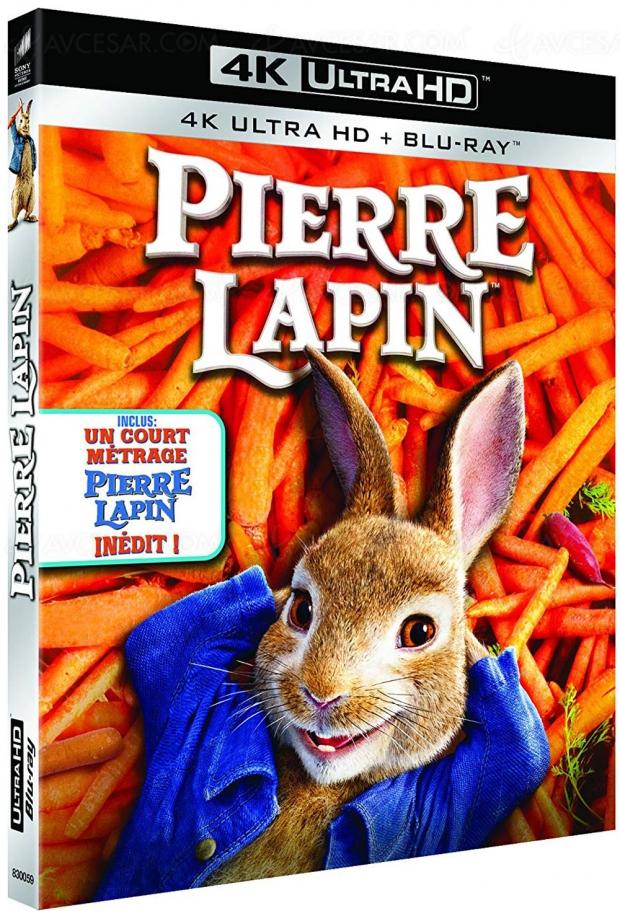 Pierre Lapin se taille une carotte en 4KUltraHDBlu‑Ray