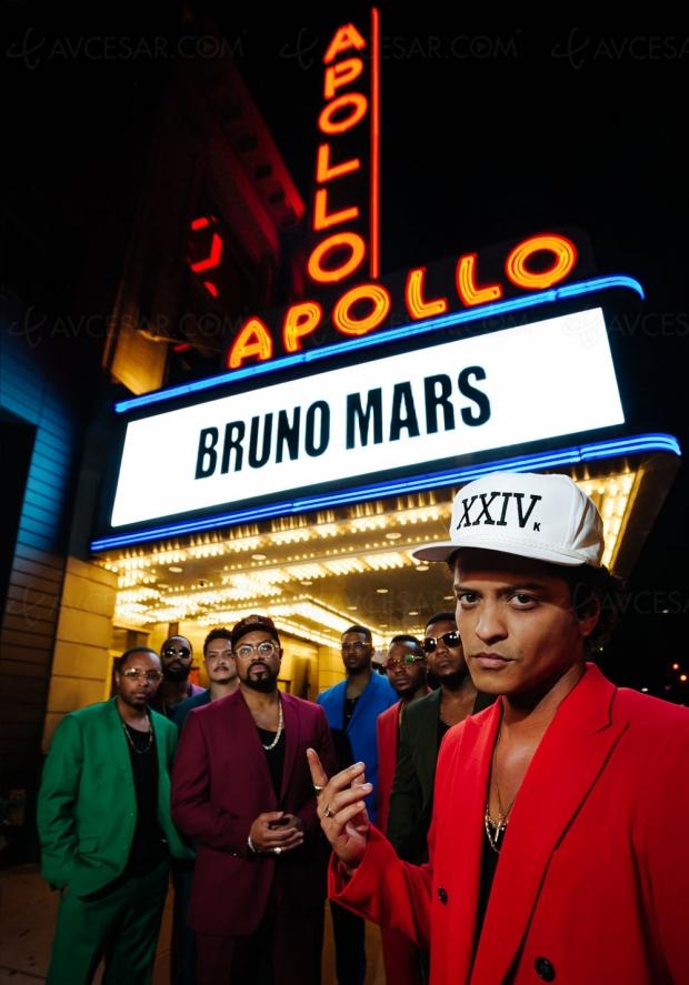 Bruno Mars déverse sa «Magie» dans un nouveau Blu‑Raylive