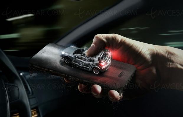 Smartphone ou conduire, il fautchoisir!