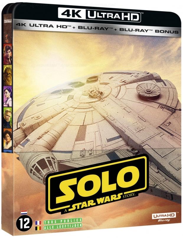 Solo: a Star Wars Story, l'édition française 4KUltraHDBlu‑Ray dévoilée (avec lesvisuels)