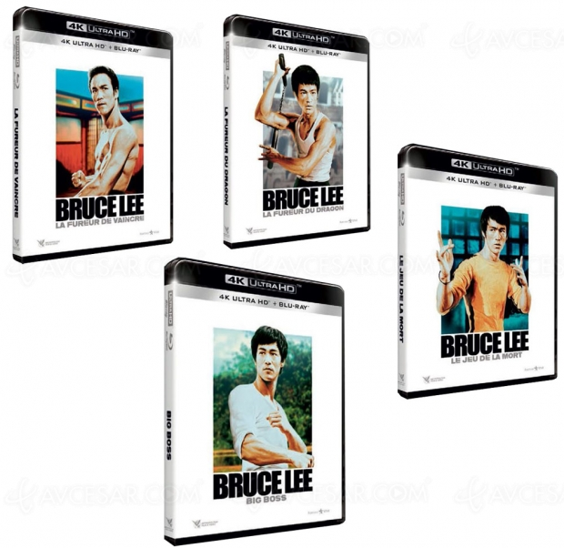 Bruce Lee, un coffret 4KUltraHDBlu‑Ray en octobre, infoconfirmée