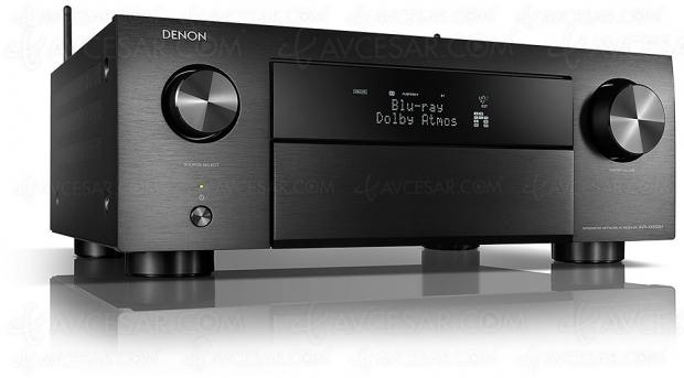 Denon AVR-X4500H, amplificateur 9.2 Bluetooth, HDMI 2.0b, Heos, eARC, Upscaling Ultra HD, HDR10, HDCP 2.2, BT.2020…