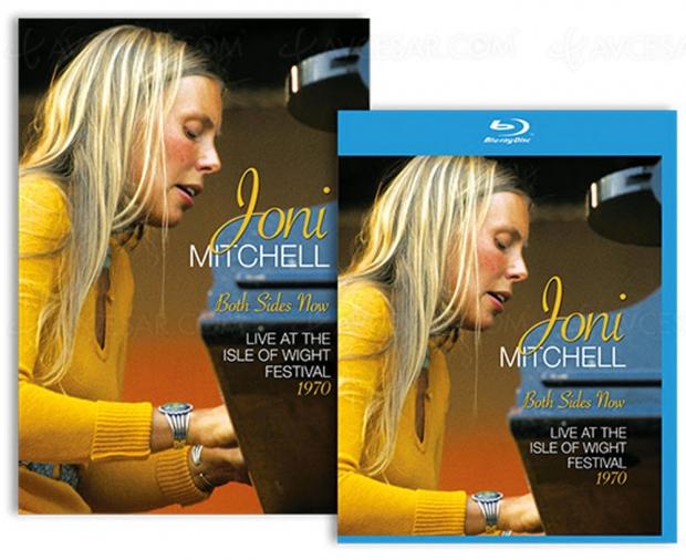 Joni Mitchell à l'île de Wight : un live mythique en Blu-Ray et DVD