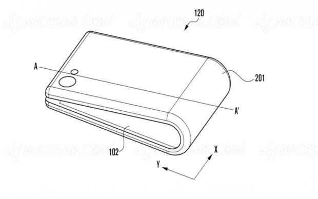Samsung GalaxyX pliable, sortie début2019?