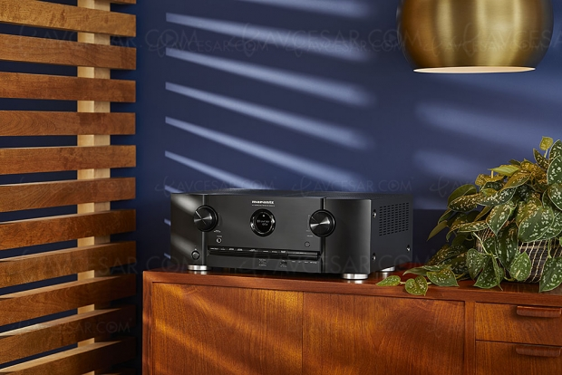 Marantz SR5013, amplificateur 7.2, Upscaling Ultra HD, multiroom Heos, HDR, AirPlay 2, Alexa, Dolby Atmos 5.1.2 et DTS:X 7.1