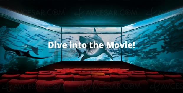 Premières salles de cinéma à270° ScreenX enFrance