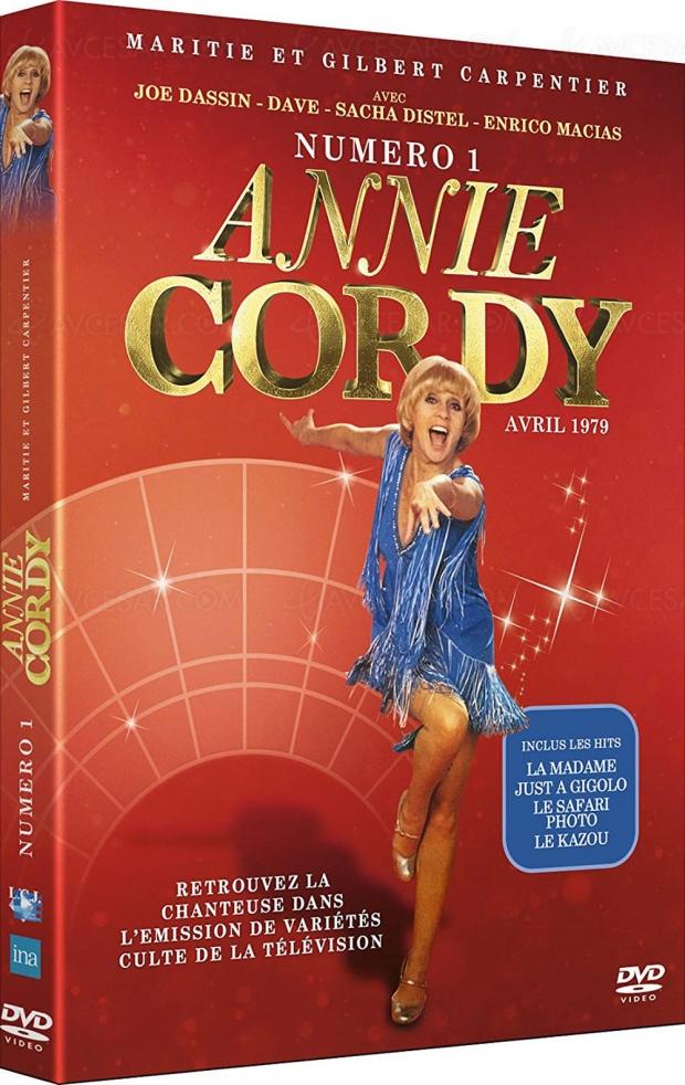 Quand Annie Cordy faisait son show aux côtés de Joe Dassin etDave...