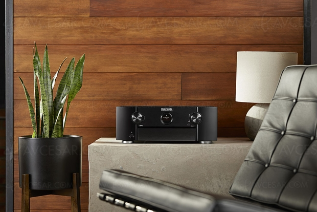 Marantz SR6013, amplificateur 9.2, Upscaling Ultra HD, multiroom Heos, HDR, AirPlay 2, Alexa, Dolby Atmos 7.1.4 et DTS:X 11.1