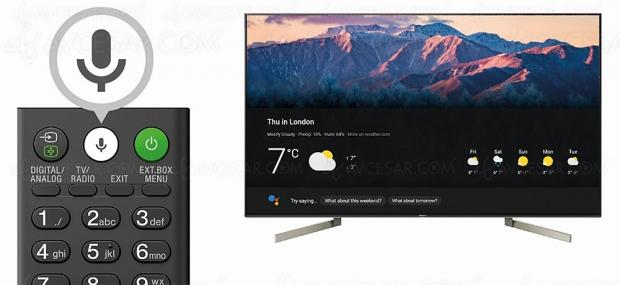 Google Assistant arrive sur les TVSony Bravia UltraHD/4KHDR