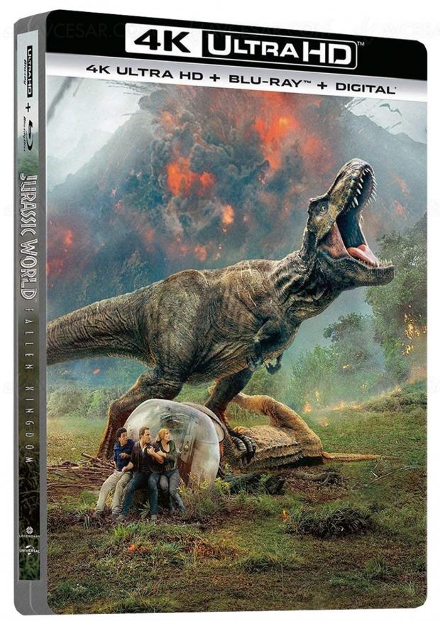 Jurassic World : Fallen Kingdom arrive en 4K Ultra-HD Blu-Ray