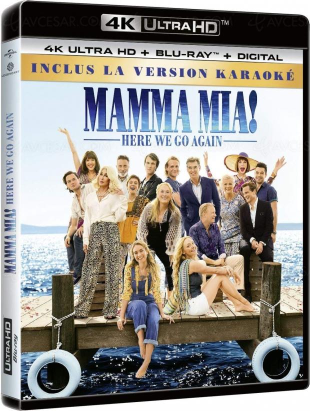 Mamma Mia! Here We Go Again… de la 4K pour ABBA !