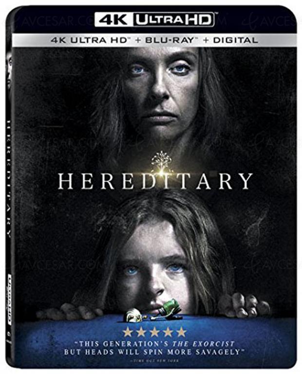 Hérédité 4K Ultra HD Blu-Ray : tare de famille