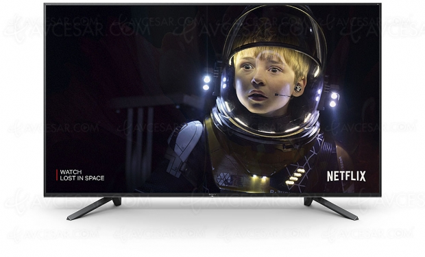 Netflix Calibrated Mode, exclusif aux TV Master Series Oled Sony AF9 et LED Sony ZF9