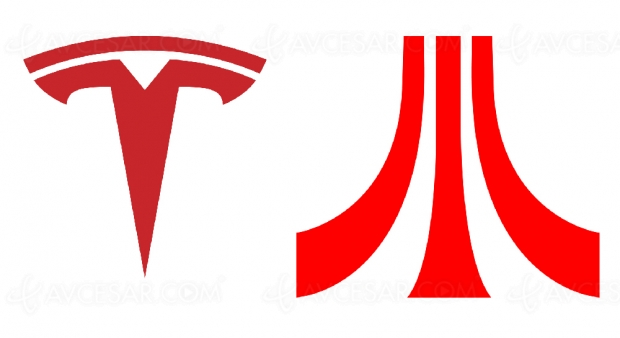 Jeux vidéo Atari dans les voitures Tesla